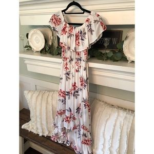 """NEW LOOK"" Floral Dress"